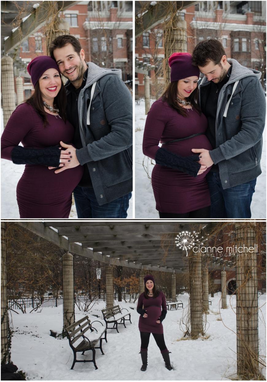 Winter Maternity Photos